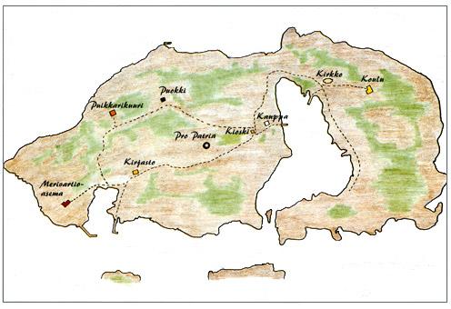 Haapasaari kotka kartta